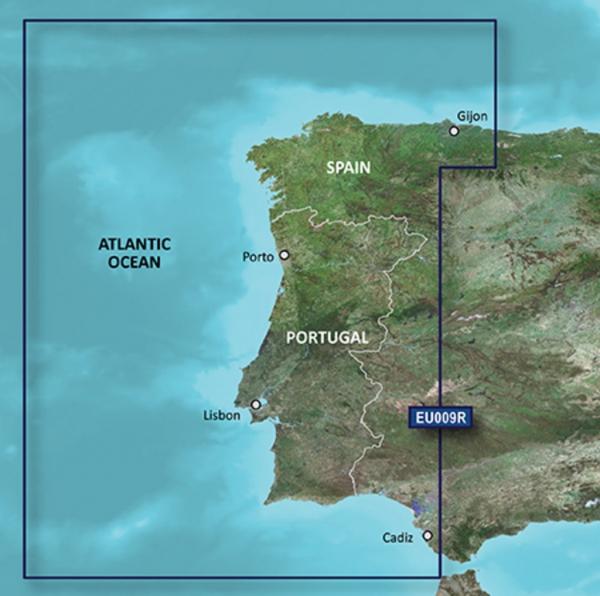 GARMIN MicroSD/SD Card: VEU009R-Portugal & Northwest Spain (010-C0767-00)