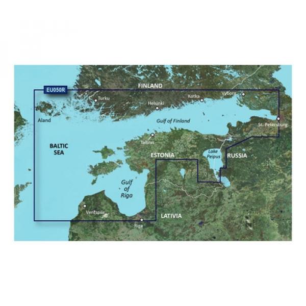 GARMIN MicroSD/SD Card: VEU050R-Gulfs Of Finland & Riga (010-C0786-00)