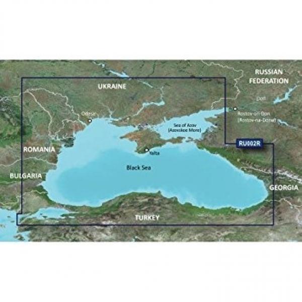 GARMIN MicroSD/SD Card: VEU063R-Black Sea & Azov Sea (010-C1064-00)
