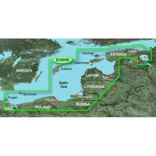 GARMIN MicroSD/SD Card: VEU065R - Baltic Sea East Coast (010-C0849-00)