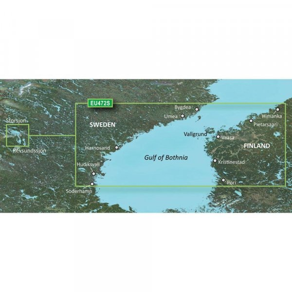 GARMIN MicroSD/SD Card: VEU472S - Gulf Of Bothnia Center (010-C0816-00)