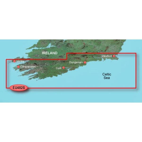 GARMIN MicroSD/SD Card: VEU482S-Wexford To Dingle Bay (010-C0826-00)