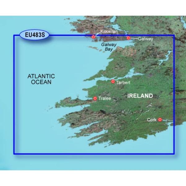 GARMIN MicroSD/SD Card: VEU483S-Galway Bay To Cork (010-C0827-00)