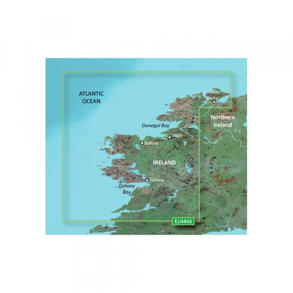 GARMIN MicroSD/SD Card: VEU484S-Ireland North-West (010-C0828-00)
