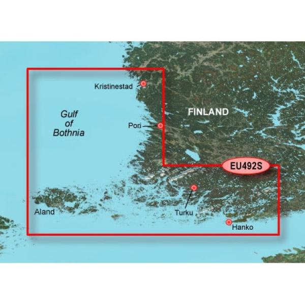 GARMIN MicroSD/SD Card: VEU492S - Kristinestad To Hanko (010-C0836-00)