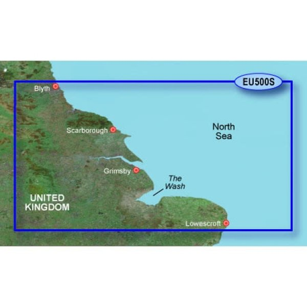 GARMIN MicroSD/SD Card: VEU500s-Blyth To LoweStoft (010-C0844-00)