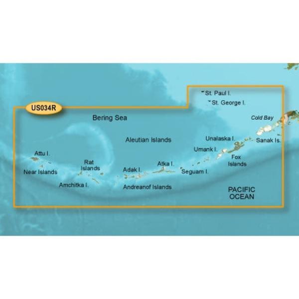 GARMIN MicroSD/SD Card: VUS034R-Aleutian Islands (010-C0735-00)