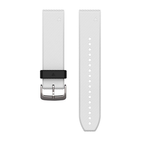 GARMIN Quickfit 22 Watch Bands White Silicone (010-12500-01)
