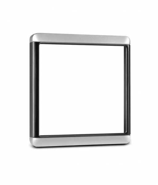 GARMIN Trim Snap Piece Cover - Silver/Black (GMI And GNX Instruments) (010-12022-01)