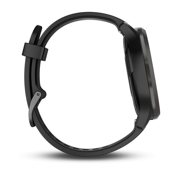 GARMIN Vivomove HR Sport Black With Slate Hardware (Large) (010-01850-11)