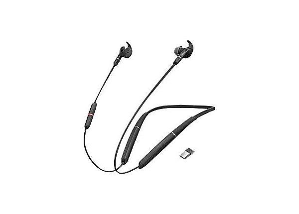 Jabra Evolve 65E MS Link 370 Headset (6599-623-109)