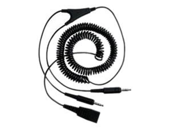 Jabra 3.5mm Plug 1 x Qd Coilded Cable 2m (8734-599)