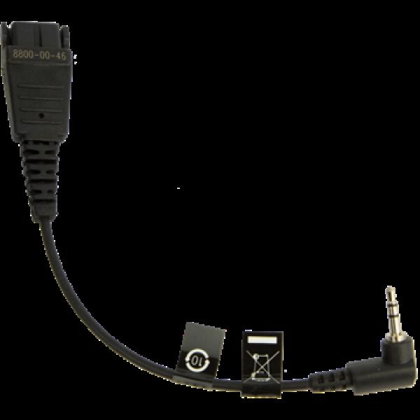 Jabra Qd To 2.5mm Plug Pana (8800-00-46)