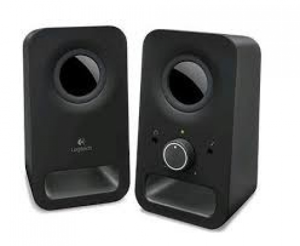 Logitech Z150 Multimedia Speakers- Midnight Black (980-000862)