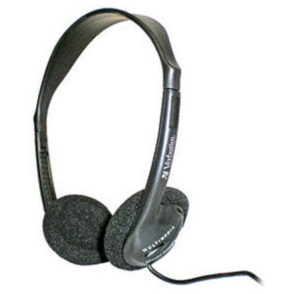 Verbatim Mm Headset W/ Vol Ctrl (41645)