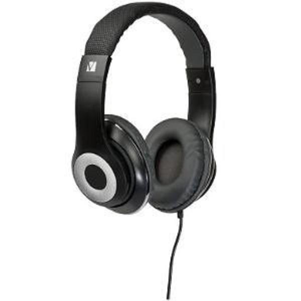 Verbatim Over-ear Classic Audio Headphones - Blac (65066)