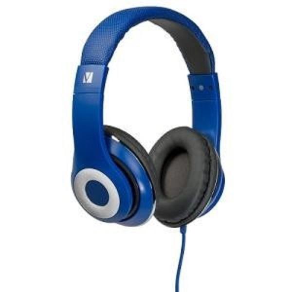 Verbatim Over-ear Classic Audio Headphones - Blue (65068)