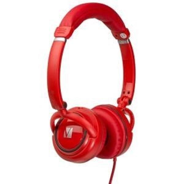 Verbatim On-ear Street Audio Headphones - Red (65070)
