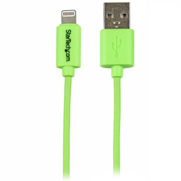 Startech 1m Green 8-pin Lightning To Usb Cable (USBLT1MGN)
