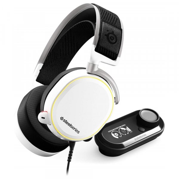Steelseries Arctis Pro+gamedac White Headset (61454)
