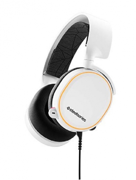 Steelseries Arctis 5 Refresh White Headset (61507)