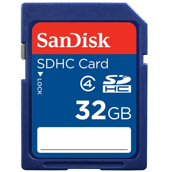 Sandisk Sdhc Sdb 32GB Class 4 Digital Media (FFCSAN32GBSDHCC4-1)