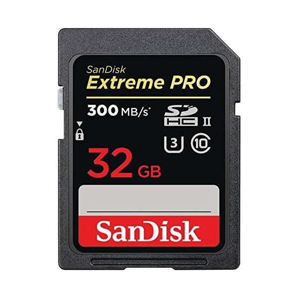 Sandisk Sandisk 32GB Extreme Pro 300/260rw Uhs-ii/ U3 Sdsdxpk-032g Digital Media (FFCSAN32GSDXPK300)