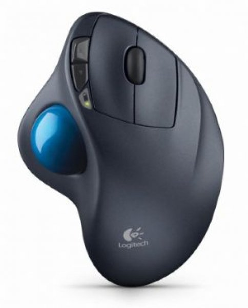 Logitech M570 Wireless Mouse Trackball Comfort Compact Time-tested Shape 2.4ghz Wireless  (910-001799)