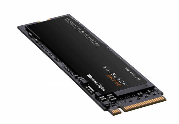 Western Digital Black SN750 2TB Nvme M.2 (2280) Pcie 3x4 3D Nand SSD Drives (WDS200T3X0C)