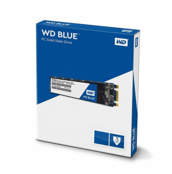 Western Digital Blue 2TB 3D Nand M.2 2280 SSD 560/530 R/W SSD Drives (WDS200T2B0B)