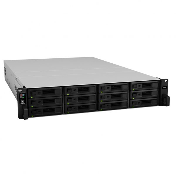 Synology Rackstation 12-Bay Network Storage Nas 2u Rack Intel C3538 Quad-core 2.1Ghz 4GB D (RS2418RP+)
