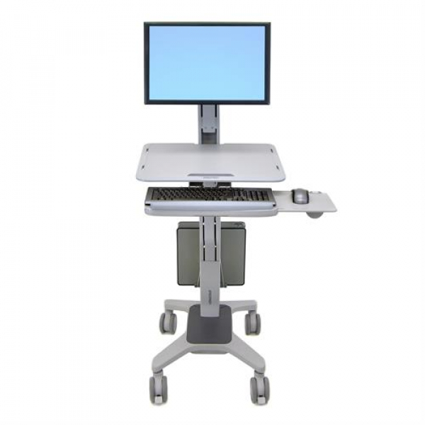 Ergotron Work Fit Sit-Stand Ergonomic LCD Audio Visual  (24-198-055)Audio Visual