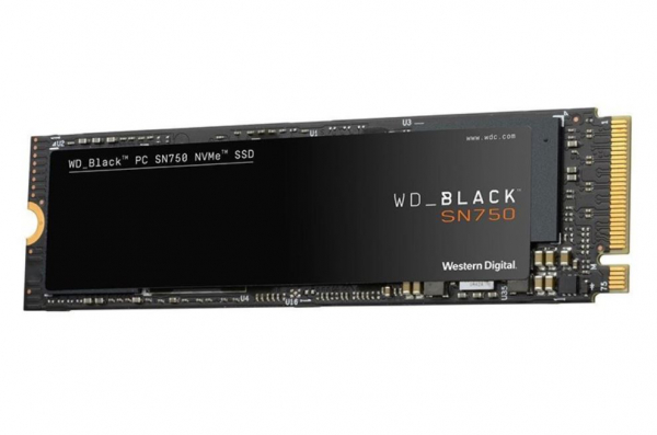 Western Digital Black SN750 500GB Nvme M.2 (2280) Pcie 3x4 3D Nand SSD SSD Drives (WDS500G3X0C)