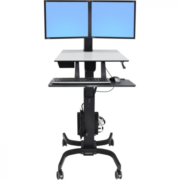 ERGOTRON Workfit-c Sit-stand Dual Lcd 24-214-085
