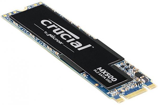 Micron Crucial MX500 500GB M.2 (2280) SSD - 3D TLC 560/510 MB/S 90/95K I Drives (CT500MX500SSD4)
