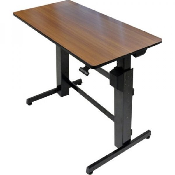 ERGOTRON Workfit-d Melamine Walnut Wood 24-271-927