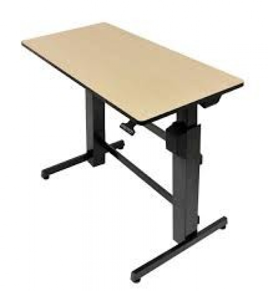 ERGOTRON Workfit-d Birch Wood 24-271-928