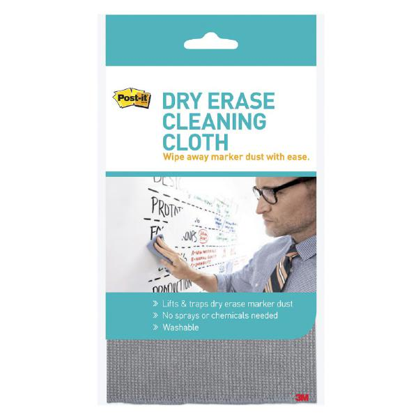 3m Post-it Dry Erase Cleaning Cloth (70005256667)