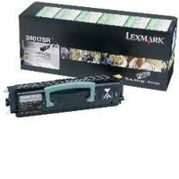 LEXMARK Black (return Program) Toner Yield 2000 24017SR