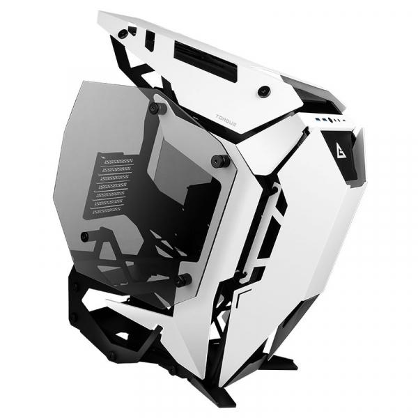 Antec Torque Black White Open Frame Case E-atx Atx Micro-atx Itx. Tempe (Torque Black/White)