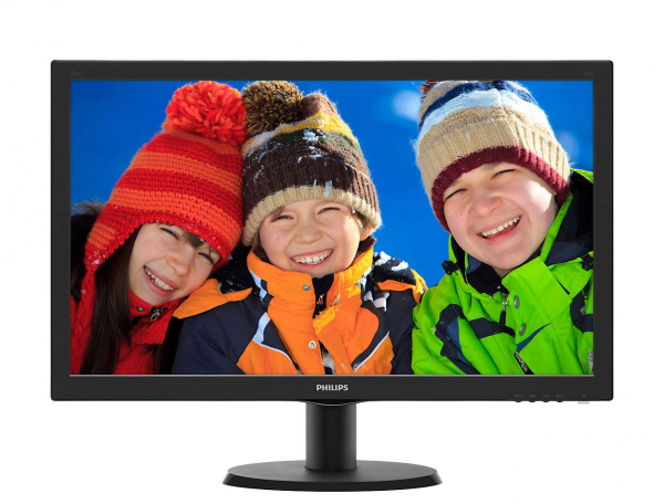 PHILIPS 23.6 1920x1080 LED LCD Monitor (243V5QHABA)