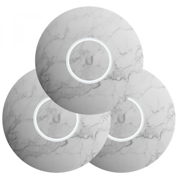 Ubiquiti Unifi Nanohd Hard Cover Skin Casing - Marble Design - 3-pack (nHD-cover- Marble-3)