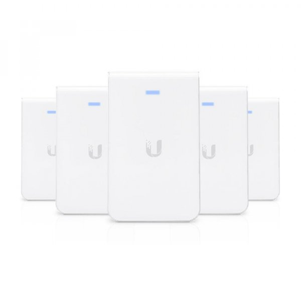 Ubiquiti Unifi 802.11ac In-wall Access Point With Ethernet Port 5 Pack (UAP-AC-IW-5)