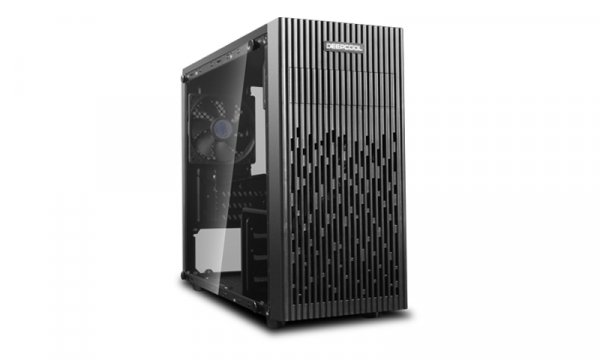 Deepcool Deepcool Full Tempered Glass Side Panel M-atx Case 1x 120mm Black (MATREXX 30)