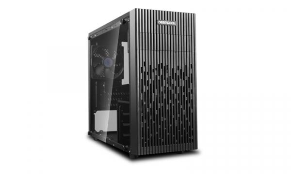 Deepcool Deepcool Full Tempered Glass Side Panel M-atx Case 1x 120mm Black (MATREXX 30)