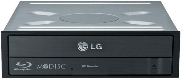 Lg 16x Sata Internal Blu-ray Drive Burner - Slient Jamless Play M Di (BH16NS55)