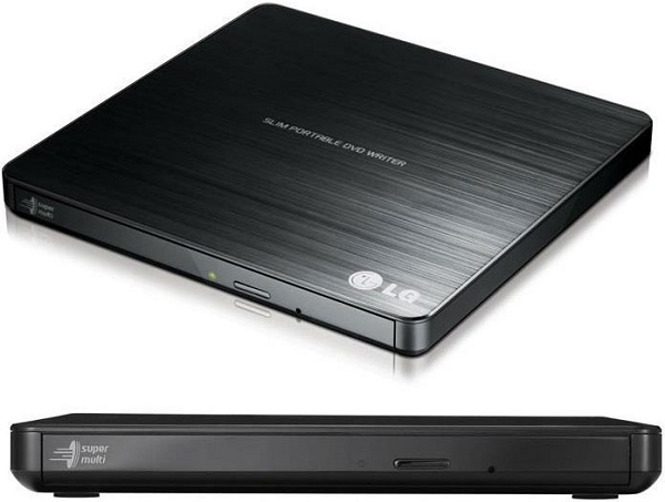 Lg 8x Ultra Slim Portable External Usb Dvd Drive Burner - M Disc Sil (GP60NB50)
