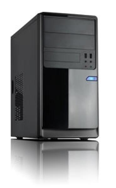 Casecom Cm13 Black Matx W/550w 1x Usb3.0+1xusb2.0 Hd Audio (CM-13B)