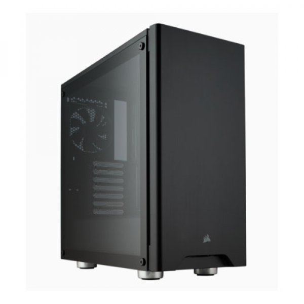 Corsair Carbide 275r Black Tempered Glass Solid Atx Mid-tower Case. (CC-9011132-WW)