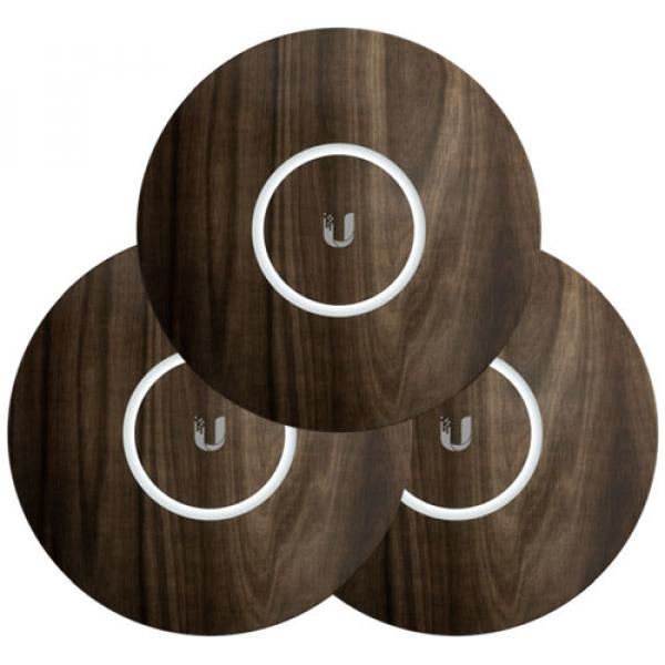 Ubiquiti Unifi Nanohd Hard Cover Skin Casing - Wood Design - 3-pack (nHD-cover-Wood-3)